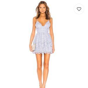 Revolve NBD lilac dress